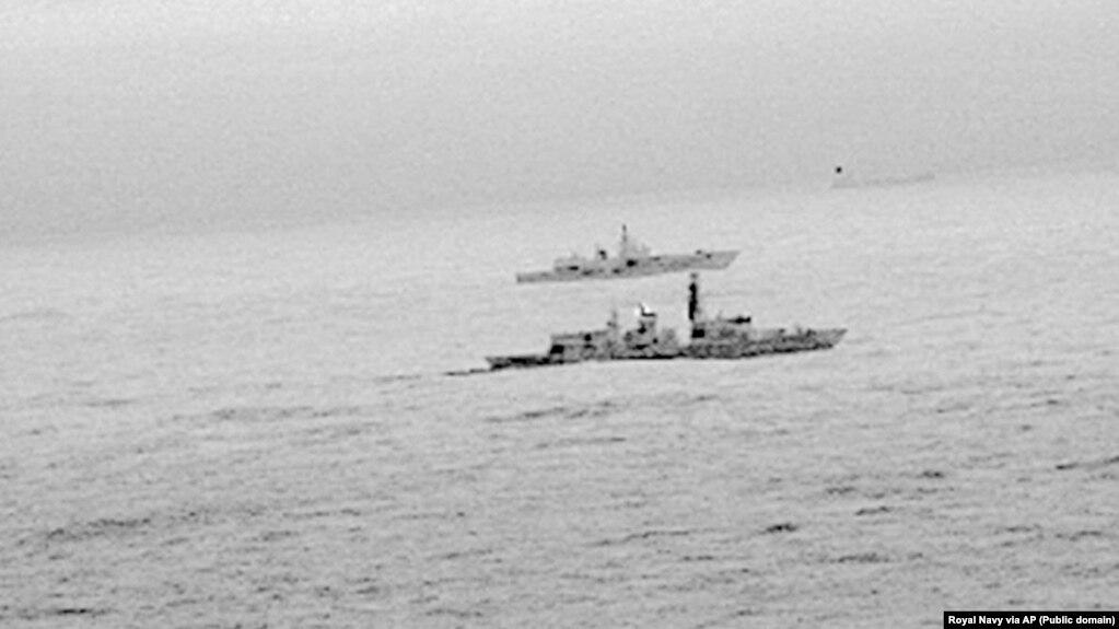 Incident mes flotës britanike dhe një luftanije ruse