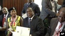 Icegera ca mbere ca prezida muri Zimbabwe, Emmerson Mnangagwa