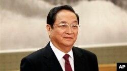 Ông Du Chính Thanh, nhân vật thứ tư trong hàng ngũ lãnh đạo đảng cộng sản Trung Quốc.