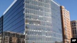 央视在华盛顿1099纽约大道上租赁了36000平方英尺的办公楼