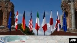 جی سیون کا ورچوئل اجلاس برطانیہ کی صدارت میں ہوا جس میں نیٹو کے سربراہ سمیت یورپی یونین اور اقوامِ متحدہ کے نمائندوں نے بھی شرکت کی۔ جی سیون میں امریکہ، برطانیہ، کینیڈا، فرانس، جرمنی، اٹلی اور جاپان شامل ہیں۔ (فائل فوٹو)