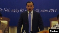 Juru bicara Kementerian Luar Negeri Vietnam, Le Hai Binh membela kebijakan yang dibuat mengenai hubungan dengan China (foto: dok).