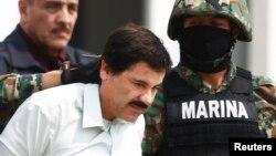 El Chapo Guzmán fue presentado formalmente ante un juez en México.