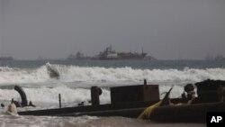 Корабли у побережья Нигерии (архивное фото)