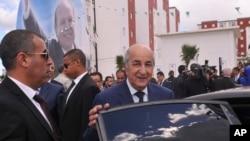 Le Premier ministre Abdelmadjid Tebboune à Alger, le 3 avril 2017.