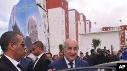 Le nouvellement élu président et ex-Premier ministre Abdelmadjid Tebboune à Alger, le 3 avril 2017.
