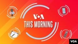VOA This Morning 30 Juli 2021