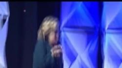 Клинтон нападната со чевел