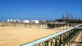 The new Eni (The Italian oil and gas company) gas compression plant in Mellitah, Libya. (file photo)