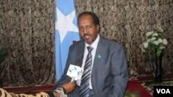Tổng thống Hassan Sheikh Mohamud của Somalia