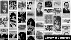 Search results from millions of American newspaper pages as generated by the Newspaper Navigator tool. (Newspaper Navigator, Library of Congress)