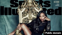 Petenis AS, Serena Williams menjadi sampul majalah Sports Illustrated tanggal 14 Desember 2015.
