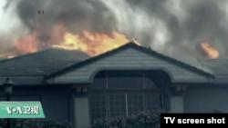VOA连线:加州最严重山火,葡萄酒产区受影响