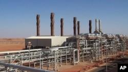 Cơ sở khai thác khí đốt Ain Amenas, ở khu vực trung tâm miền đông Algeria, nơi các phần tử Hồi giáo bắt cóc các con tin, 16/1/2013.