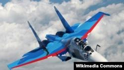 Pesawat Sukhoi SU 30 (Fto: dok).