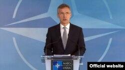 Generalni sekretar NATO, Jens Stoltenberg, Brisel 20. april 2016.