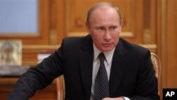 روسی وزیر اعظم ولادیمر پوٹن
