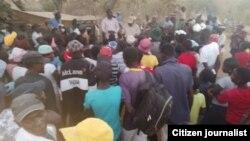 Amalunga ebandla leMthwakazi Republic Party eNkayi.