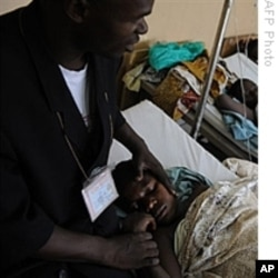 Rape victims in a Congolese hospital. 11 Aug 2009