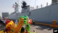 China mengirim kapal perang fregat 054A kepada Pakistan (foto: dok).