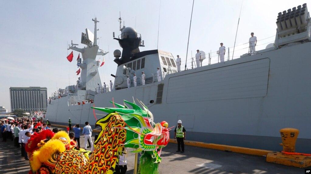 中国开始在海上扩张加大努力