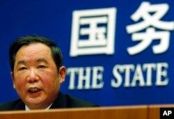 中国政协负责宗教民族事务的官员、原中共统战部副部长朱维群(资料照)