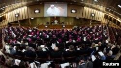 Hội nghị 4 ngày về cuộc khủng hoảng lạm dụng tình dục được tổ chức ở Vatican từ ngày 21/2/2019.