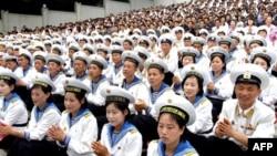 Военные моряки Северной Кореи