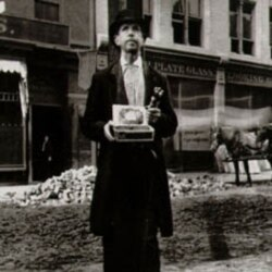 Jacob Riis, Blind Beggar, c. 1890