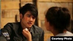 """Thai film star Mario Maurer in scene from """"Prisana"""" (IOM)"""