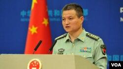Phát ngôn nhân Bộ Quốc phòng Trung Quốc, Yang Yujun.