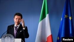 意大利总理孔特。2018年10月18日