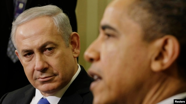 U.S. President Barack Obama meets with Israel's Prime Minister Benjamin Netanyahu in the Oval Office of the White House in Washington, March 5, 2012.