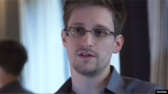 Interview video Edward Snowden