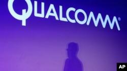 高通公司首席執行官莫倫科夫在拉斯維加斯的國際消費電子展上講話。(2014年1月6日)