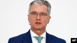 奥迪首席执行官鲁伯特•施塔德勒(资料照片)