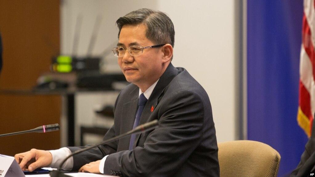 Thứ trưởng Ngoại giao Trung Quốc Trịnh Trạch Quang (Zheng Zeguang).