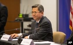 资料照:中国外交部副部长郑泽光