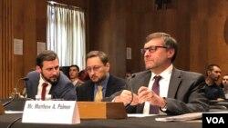 Arhiv - Specijalni predstavnik državnog sekretara za Zapadni Balkan Matthew Palmer na pretresu u Senatu.