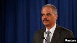 Američki sekretar za pravosuđe Erik Holder