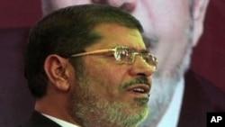 Novoizabrani predsednik Egipta Mohamed Morsi