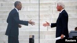 El presidente Barack Obama junto a Bill Clinton abogarán sobre la nueva ley de salud.