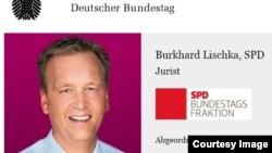 Nghị sỹ Burkhard Lischka trên trang web của quốc hội Đức. Ông kêu gọi đóng băng các quỹ viện trợ phát triển của Đức đối với Việt Nam.
