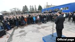 Predsednik Srbije Aleksandar Vučić u poseti Krušiku, Foto: official publication