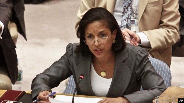 Bà Susan Rice - đại sứ Hoa Kỳ Liên Hiệp Quốc. (AP Photo/Bebeto Matthews, File)