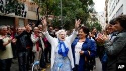 'Yan yankin Catalonia da suka kada kuri'ar ballewa daga kasar Spain