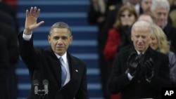 Hình ảnh lễ nhậm chức lần hai của Tổng thống Obama