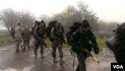 სურათზე: პირველი ქვეითი ბრიგადის სადაზვერვო ქვედანაყოფის მებრძოლები უელსში