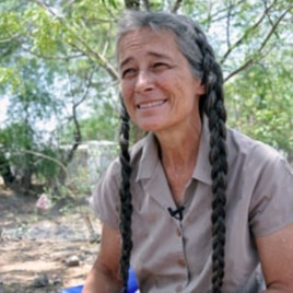 Dr. Jill Seaman has dedicated years to fighting Kala Azar disease in South Sudan, April 19, 2012