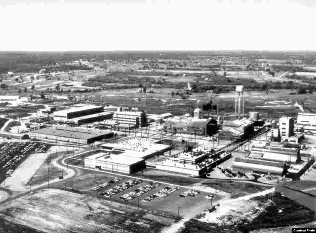 """Fabrika uranijuma sa svim postrojenjima bila je na mjestu gdje se danas nalazi """"nuklearna deponija"""". (US Dept. of Energy)"""